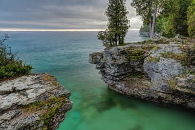 Cave Point County Park  wisconsin