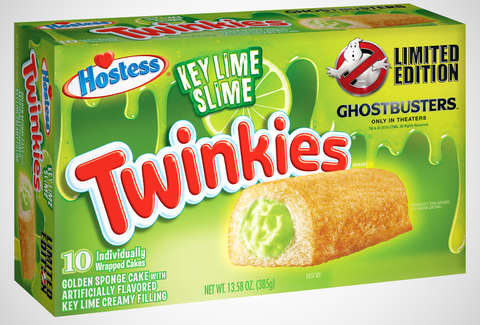 Key Lime Slime Twinkies