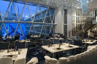 Wonderland Restaurant on Harmony of the Seas