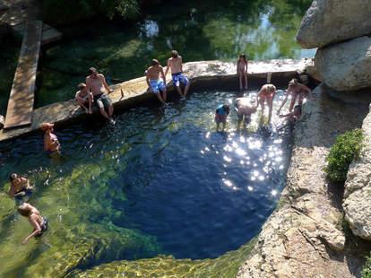 Jacob's Well Wimberly Texas