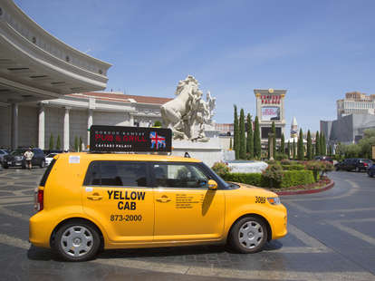 Taxi in Las Vegas