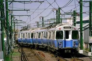 The Blue Line in Boston
