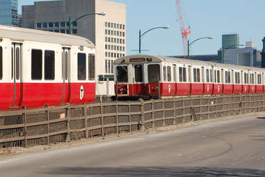 The Red Line in Boston