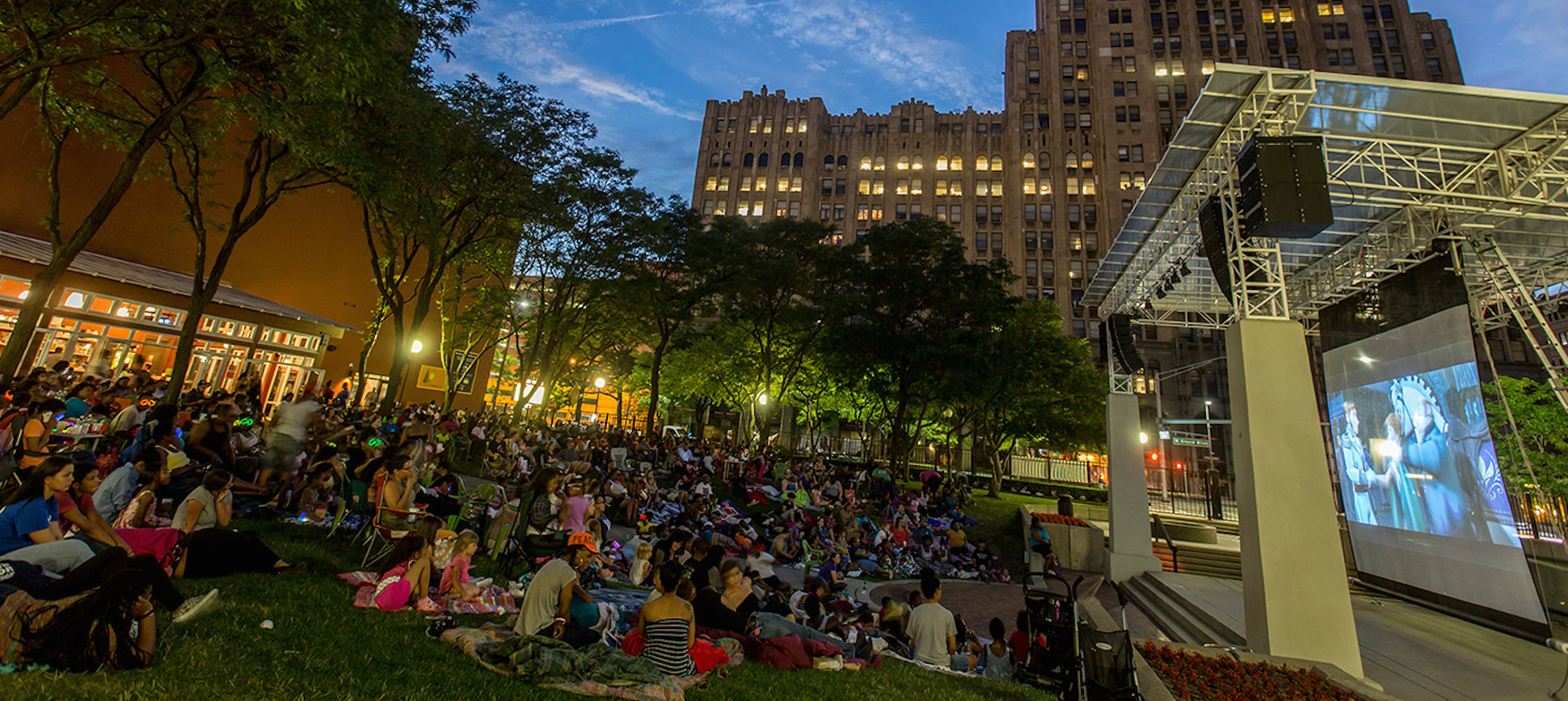 Every Outdoor Movie Playing in Detroit This Summer, in One Calendar