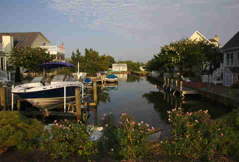 A canal in South Bethany