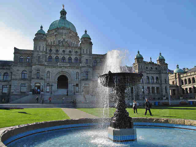 Victoria British Columbia Parliament building