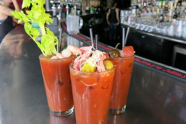 Twisted Spoke chicago bloody mary
