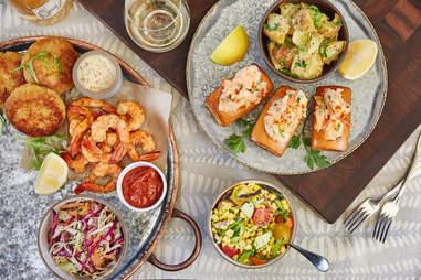 Seafood picnic at The Hollywood Bowl