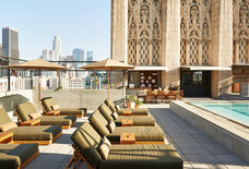 Upstairs Rooftop Lounge at Ace Hotel