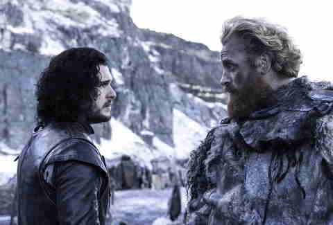 Game of Thrones, John Snow, Tormund
