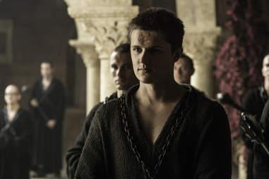 Eugene Simon as Lancel Lannister of the Faith Militant