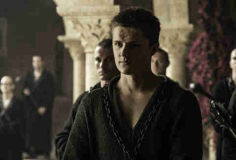 Eugene Simon as Lancel Lannister of the Faith Militant
