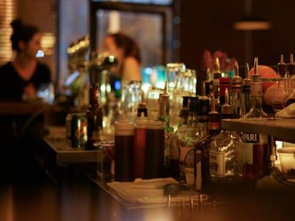 The bar at Northwood