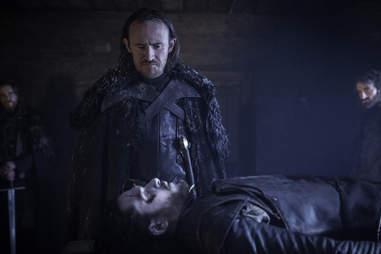 Kit Harington as Jon Snow who is dead