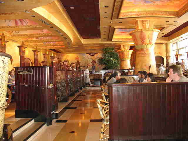 Cheesecake Factory interior