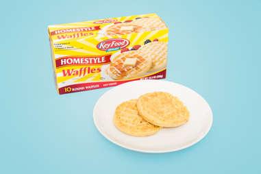 Key Food Brand Frozen Waffles