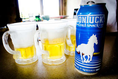 Montucky Cold Snack Beer