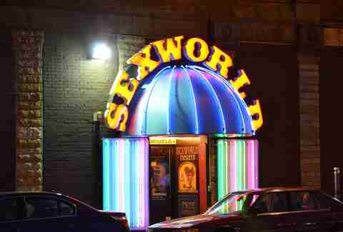 SexWorld entrance