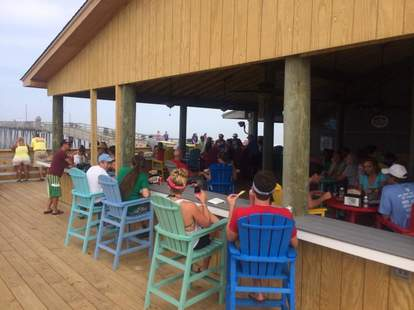 Capt. Andy's Oceanfront Bar outer banks