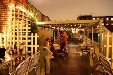 The rooftop at Graziella's