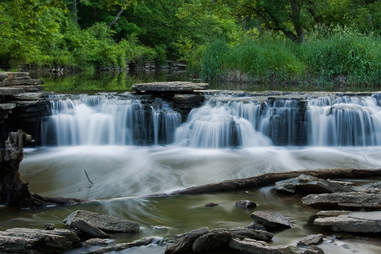Waterfall Glen in Darien, Illinois