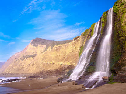 Alamere Falls in Point Reyes National Seashore