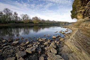 Kankakee River State Park Illinois