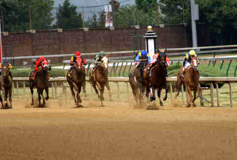 Churchill Downs dirt