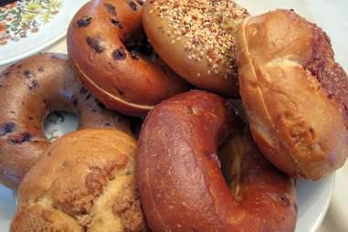 Panera bagels