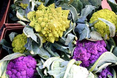 Produce at the farmer's market