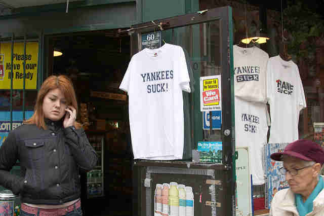 Yankees suck shirt