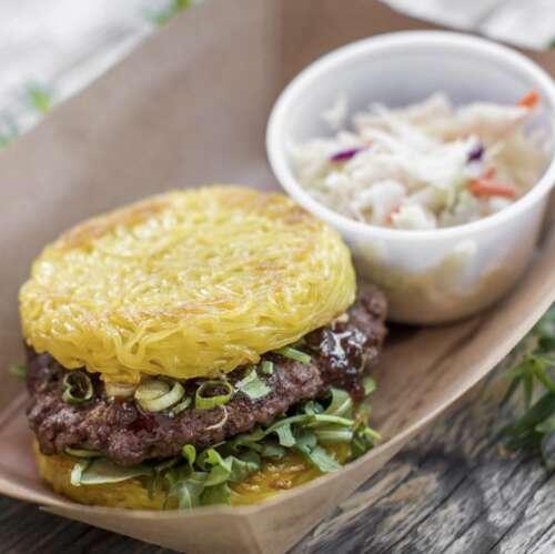 Ramen Burger, Smorgasburg, Los Angeles