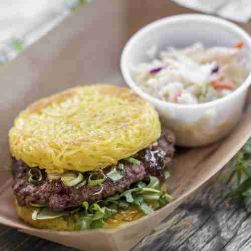 Ramen Burger, Smorgasburg, Los Angeles