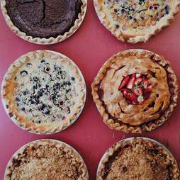 Rucker's Pies, Smorgasburg, Los Angeles