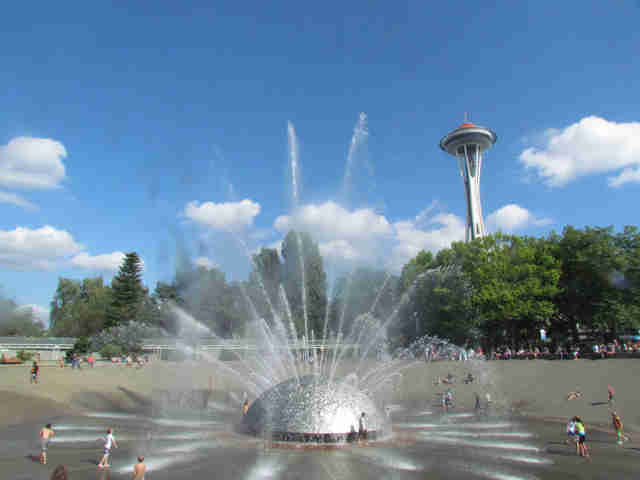 International Fountain at the Seattle Center
