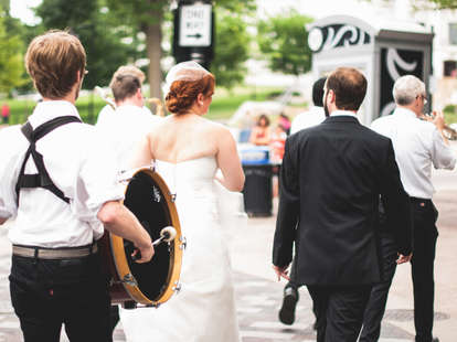A wedding march in Wisconsin