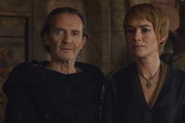 Qyburn and Cersei on game of thrones