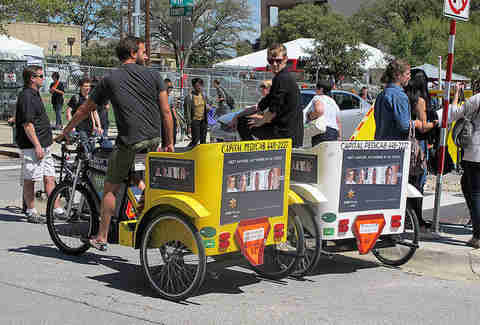Austin Capital pedicab