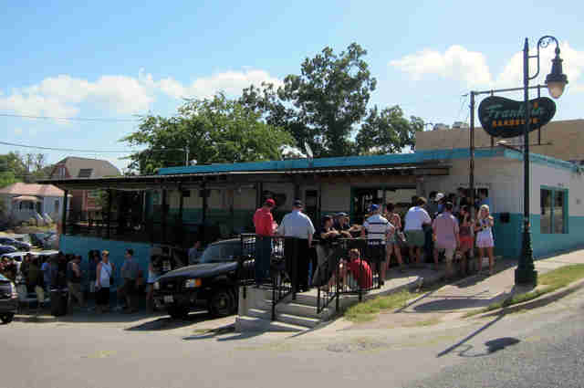 Franklin barbecue austin long line
