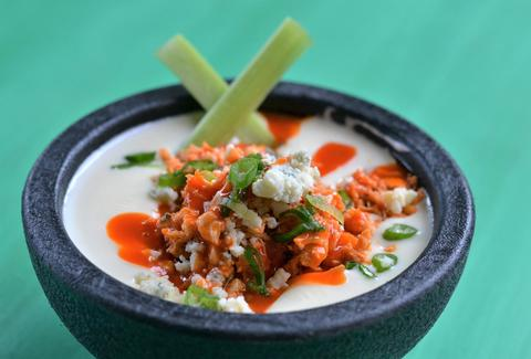 Buffalo Chicken Queso at Barrio