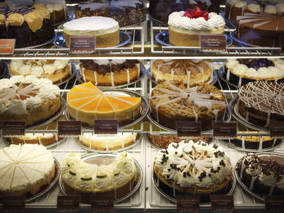 Cheesecake Factory cheesecakes