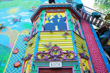 The exterior of Randyland