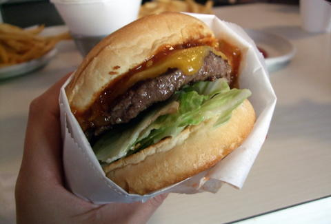 Apple Pan burger in Los Angeles