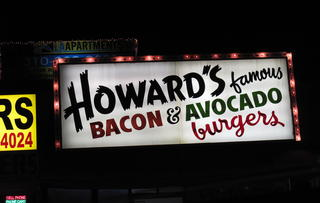 Howard's Famous Bacon & Avocado Burgers