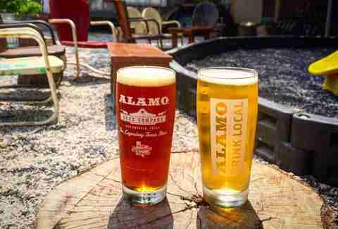 Alamo Beer patio