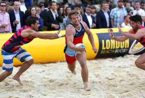 London Beach Rugby