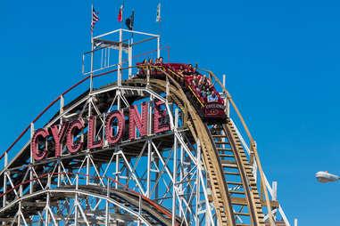 Coney Island roller coaster Cyclone