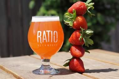 Beer at Ratio Beerworks
