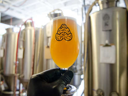 Beer at the Cerebral Brewing