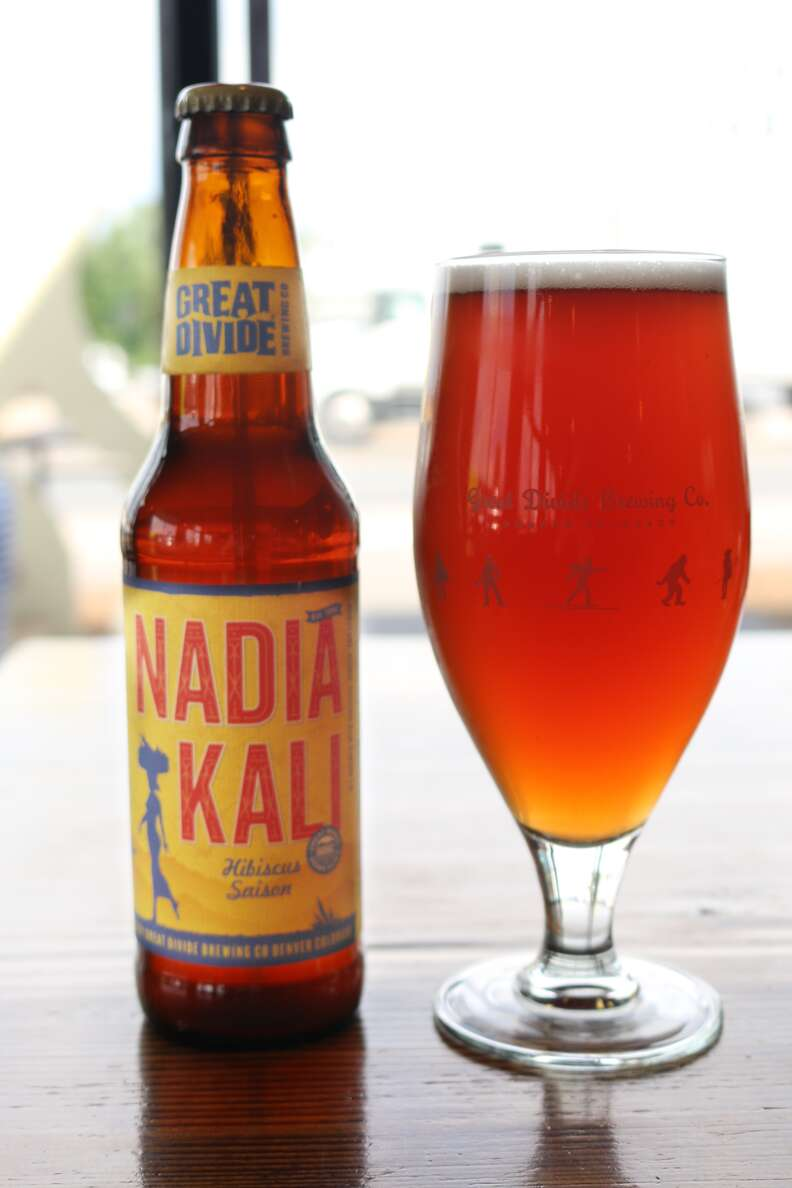 Nadia Kali beer from Great Divide Brewing